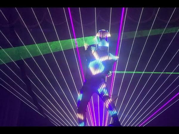 Laser Man Show Tron Dance promo