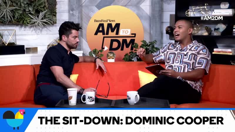 """Dominic Cooper: """"Preacher"""" Star And Our MCM"""