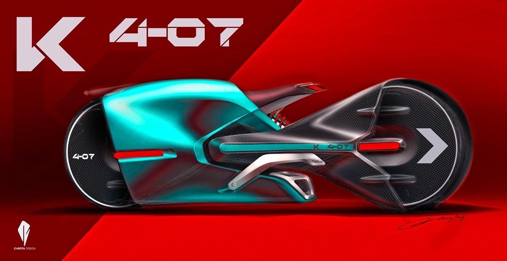 Концепт гипербайка Carota Design K4-07