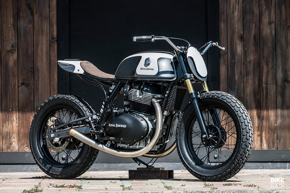 Zeus Custom: Стрит-трекер Royal Enfield 650 Moose