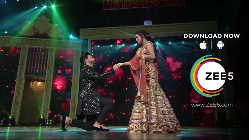 Zee Rishtey Awards 2018 Karan's proposal to Preeta
