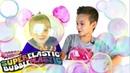 Челлендж КТО НАДУЕТ БОЛЬШЕ ШАР Вызов принят ! ПЛАСТИКОВЫЙ ПУЗЫРЬ Challenge Magic Goo Balloon