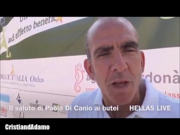 Di Canio tribvto HellasVerona