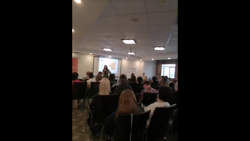 Полный зал предпринимателей из Самары, Казани, Оренбурга и др областей