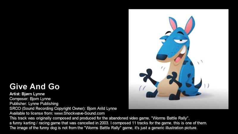 Bjørn Lynne Give And Go abandoned video game music