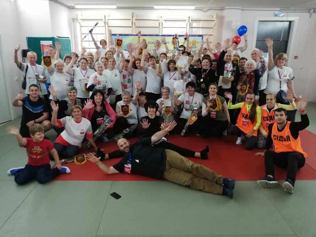 «Спортивная осень» прошла в Некрасовке для участников проекта «Московское долголетие»