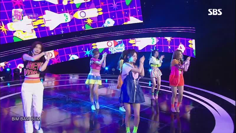 190818 Rocket Punch BIM BAM BUM Debut Stage SBS Inkigayo