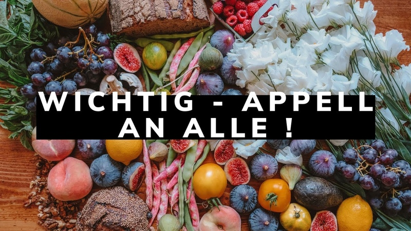 Wichtig Appell an alle