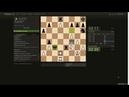 Блиц с французким шахматистом Славянская защита
