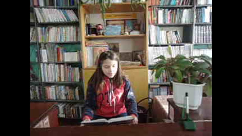 Принимаем участие в Республиканском литературном марафоне Читающие дети В Осеева Сыновья читает Алина Безногих 11 лет