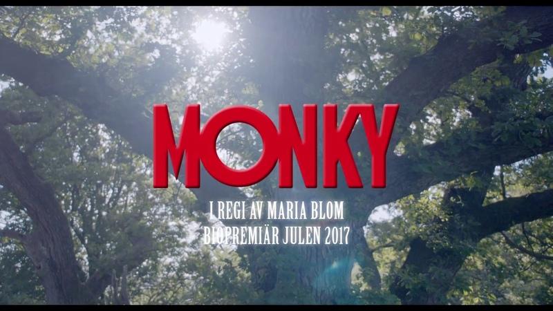 MONKY teaser trailer årets stora svenska familjefilm Biopremiär julen 2017