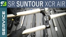 Finally SR Suntour XCR Air LOR Suspension Fork Service FULL Overhaul