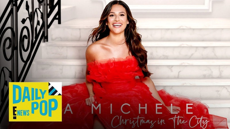First Look at Lea Michele's New Christmas Song Daily Pop E News