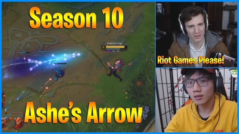 How to Dodge Season 10 Ashe's Arrows No One Knows Except Riot Games LoL Daily Moments Ep 677