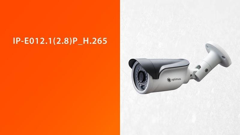 Дневное видео с камеры Optimus IP-E012.1(2.8)P_H.265