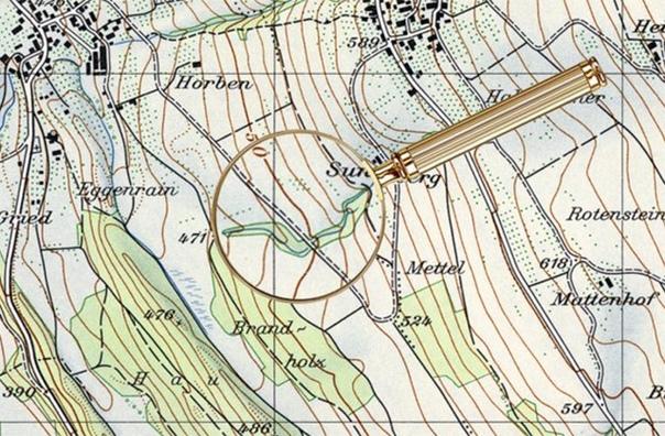 За плечами у небольшой Швейцарии 175-летний опыт картографии За это время государство успели очень подробно нанести на географические карты. Однако помимо привычных гор, озер и дорог в самых