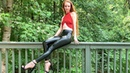 Leather Leggings Bodysuit Outfits 4k