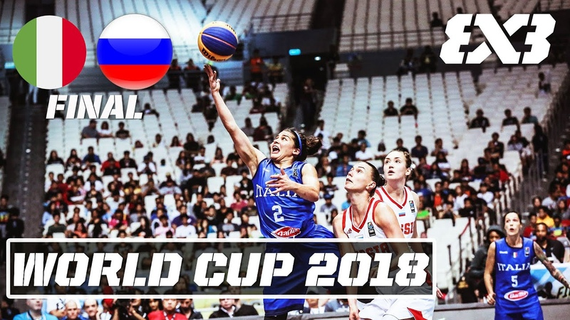 🇮🇹Italy vs 🇷🇺Russia Full Final Game RE LIVE FIBA 3x3 World Cup 2018