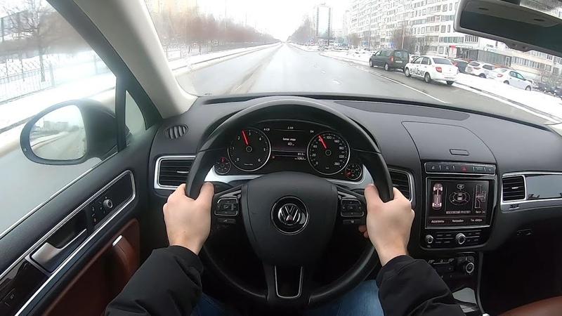 2016 Volkswagen Touareg 3.0TDI 4Motion POV TEST DRIVE