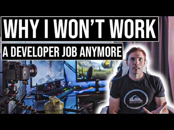 Why I won't work a developer job anymore | grindreel entrepreneurship
