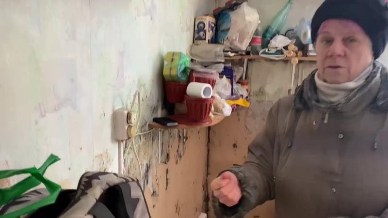 Вдова ликвидатора чернобыльской аварии осталась одна в доме развалюхе на окраине Петрозаводска