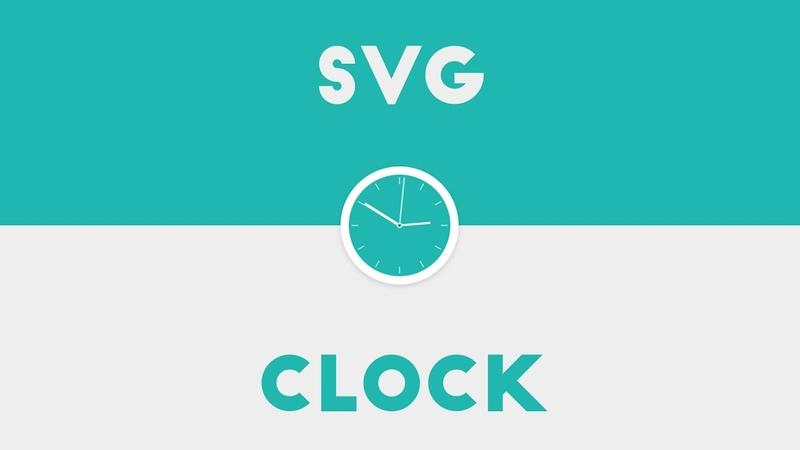 Svg Clock Using HTML CSS JS 2020