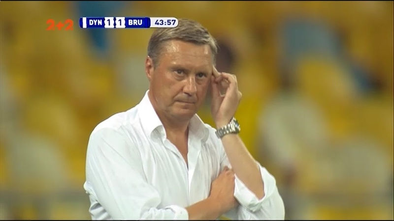 Динамо Брюгге 3 3 Нічия на Олімпійському відправила киян у Лігу Європи а Хацкевича у відставку