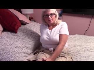 Трахнул старую бабу и кончил внутрь, sex POV porn milf mature granny creampie cum ass tit boob (Инцест со зрелыми мамочками 18+)