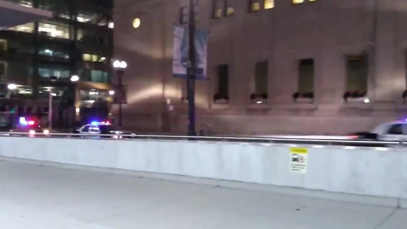 Отряд полиции Готэма. Съёмки сериала в Чикаго.