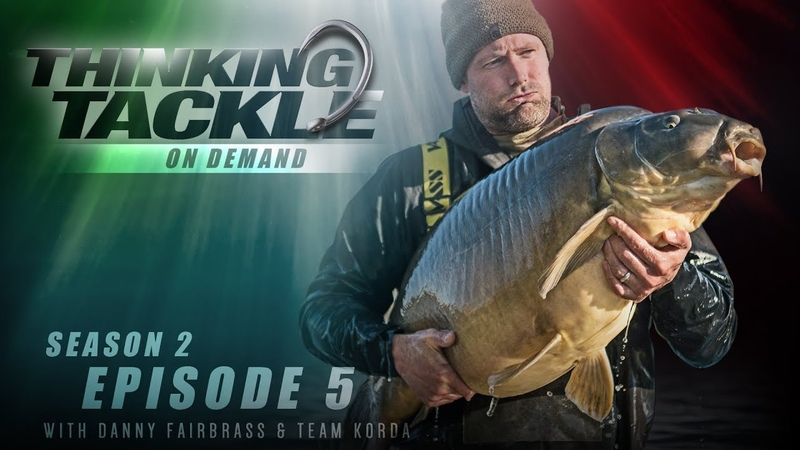 NEW Thinking Tackle OD Season 2 Ep5: Danny Fairbrass Team Korda | Korda Carp Fishing 201