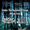 Under The Autumnal Siege Fest | 19.10 | Сердце