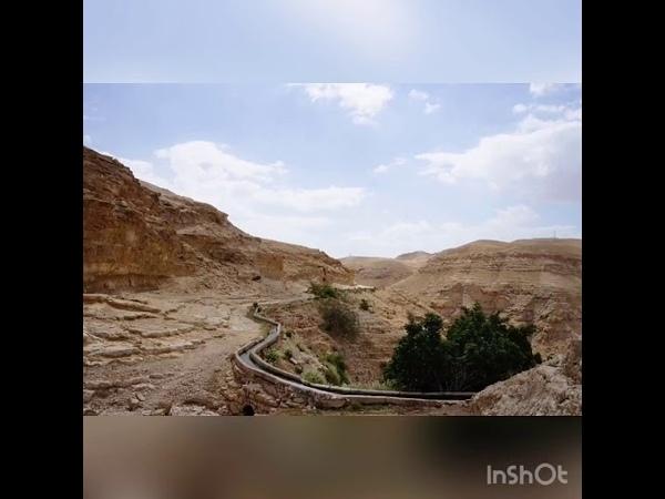 Вади Кельт Израиль Древнее ущелье Древняя дорога к древнему монастырю