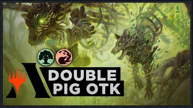 Double Pig OTK | Throne of Eldraine Standard Deck (MTG Arena)