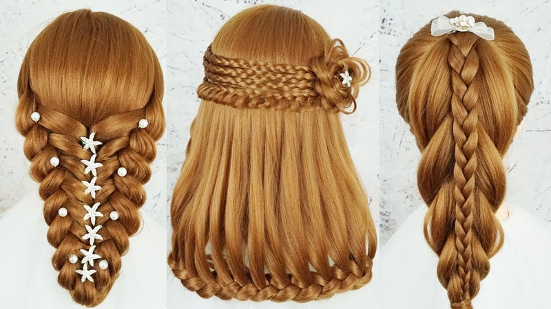Top 5 Most Beautiful Hairstyles For Party Wedding - Amazing Hairstyles Tutorials Compilation