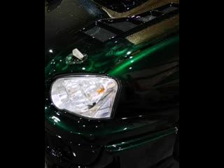 Эксклюзивная покраска Subaru wrx sti Аэрография Kandy Paint