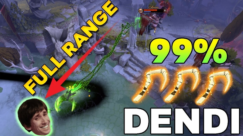 DENDI back to Pudge Aghanim's Scepter Build with NEW TI10 Immortal Hook Dota 2