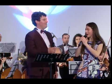 Laura Bretan and Robert Bede- Panis Angelicus and Ierusalim Live Covers from Bucuresti
