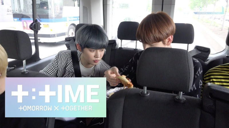 [T:TIME] Here's the only one TOMORROW X TOGETHER's pizza! - TXT (투모로우바이투게더)