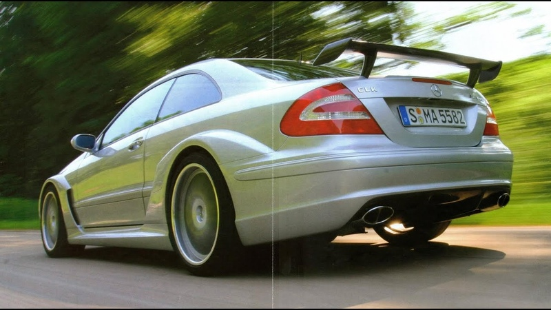 Mercedes CLK DTM AMG Street Version 582 л.с. авто истории 16 выпуск