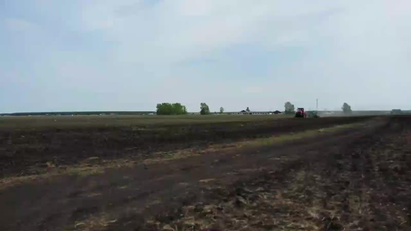 Посевная 2019 Кировец К 744Р3ХТЗ Т 150