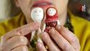 Вышиваем лицо кукле с Еленой Вернидубовой ( полная версия)