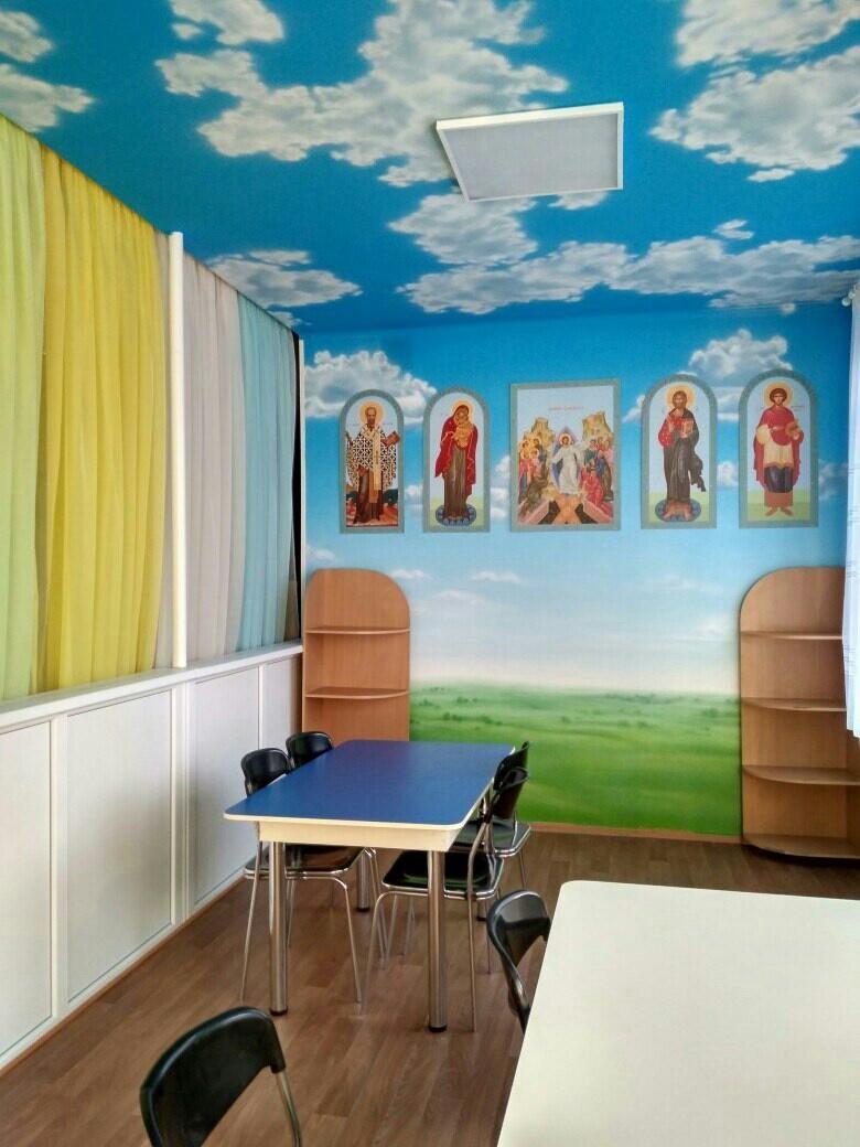 Ремонт столовой в отделении детской онкогематологии