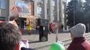Танцы с обручем на Масленице 2020 в городе Семилуки