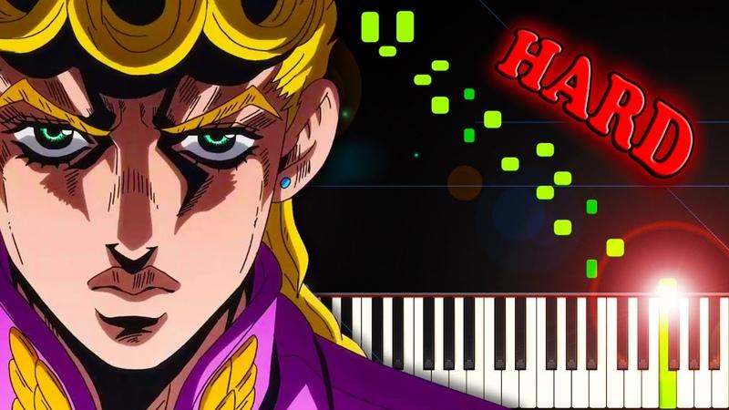 Fighting Gold (OP 8, from Jojo's Bizarre Adventure: Golden Wind) - Piano Tutorial