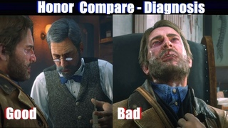RDR2 High Honor vs Low Honor Arthur (Doctor Scene) - Red Dead Redemption 2 PS4 Pro