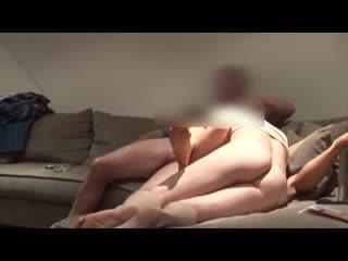 Азиатская жена шлюха Многократный оргазм под чужими мужиками при муже