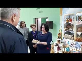 На Рогачёвщине проходит I областной форум сельской молодёжи. Моменты открытия форума.