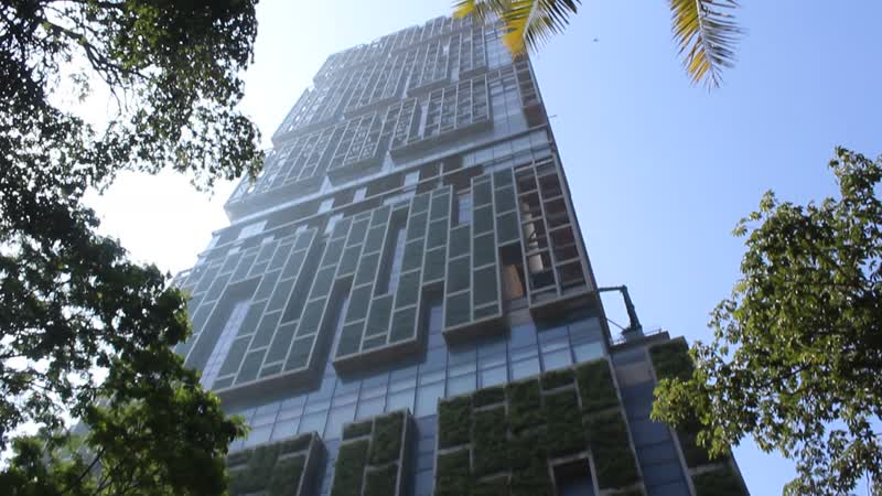 Особняк Антилия-самый дорогой в мире.Мумбай.Индия.
