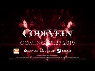 Code vein - successor of the claw boss trailer | x1, ps4, pc