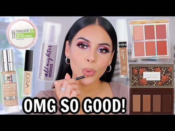 TESTING BRAND NEW MAKEUP FULL FACE OF FIRST IMPRESSIONS *drugstore high end*